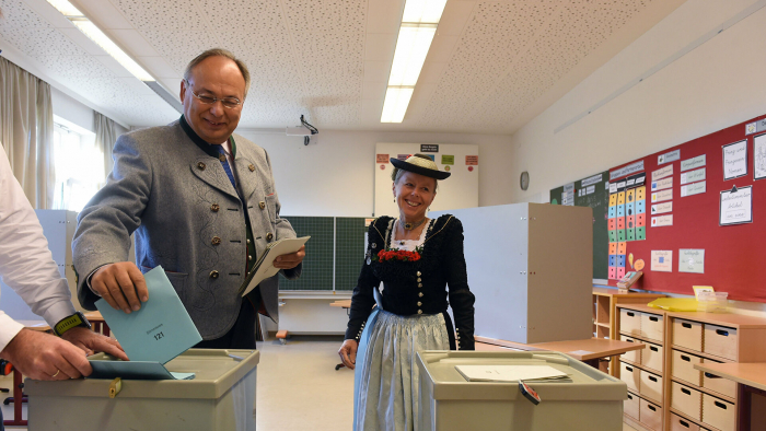 Almaniyada parlament seçkiləri başlayıb-