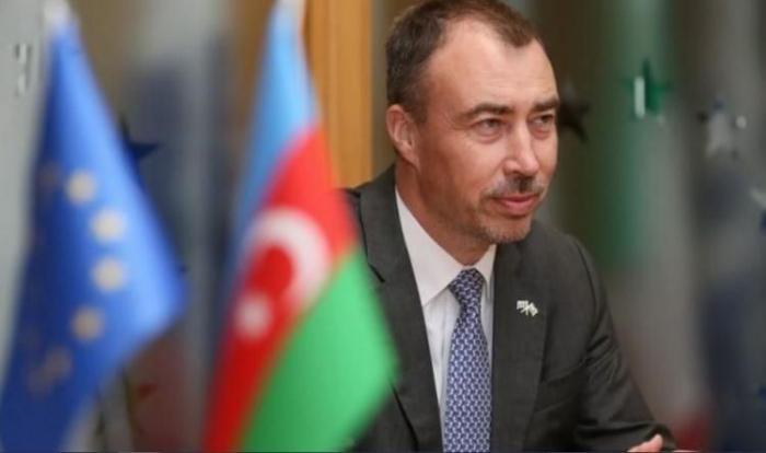 Le représentant spécial de l'UE pour le Caucase du Sud effectue une visite à Aghdam