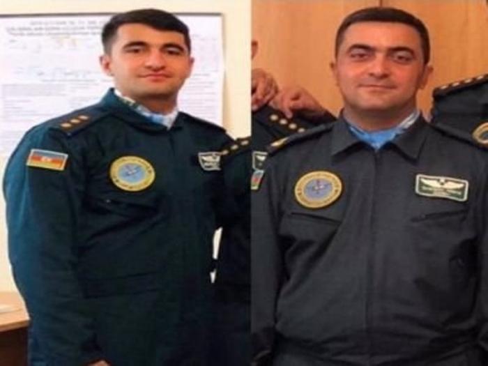Vətən müharibəsinin ilk şəhidləri olan pilotlar
