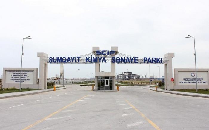 Azerbaijan to commission enterprise of Sumgayit industrial park