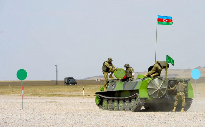 """Azerbaijani artillerymen successfully completed the """"Masters of Artillery Fire"""" contest"""