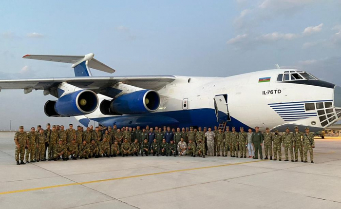 """Crew of Azerbaijan Air Force arrives in Turkey to take part in """"TurAz Falcon - 2021"""" exercises"""