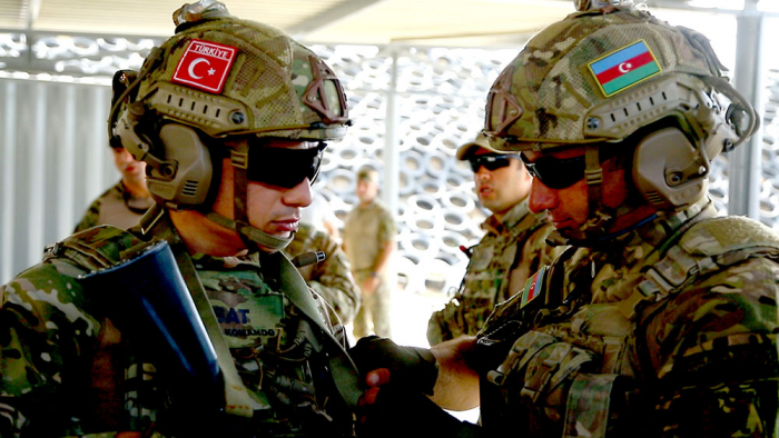 Joint training exercises of Azerbaijani and Turkish servicemen started in Baku -  VIDEO