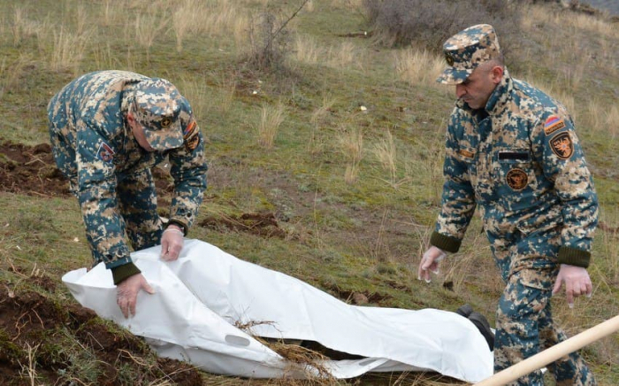 Qarabağda daha bir erməni hərbçinin meyiti tapıldı