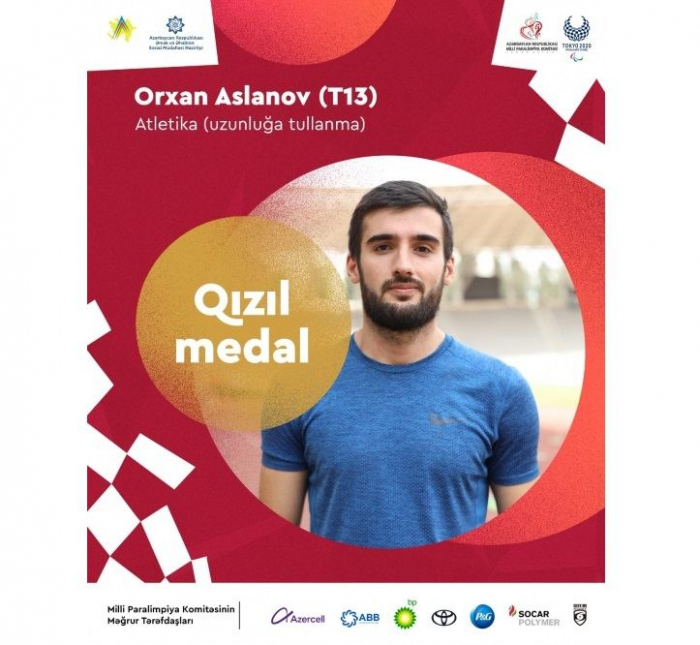 Paralympische Spiele in Tokio: Orhan Aslanov gewinnt 14. Goldmedaille