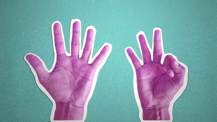 How finger counting gives away your nationality -   iWONDER