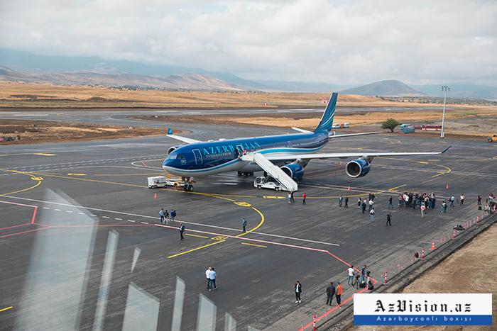 Landmark Event: Azerbaijan carries out first flight to Karabakh –  PHOTO REPORT