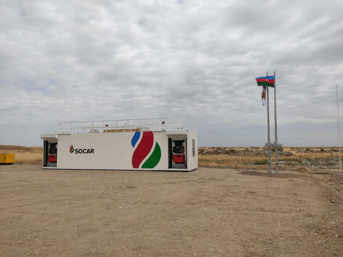SOCAR Petroleum commissions modular filling station in liberated Aghdam
