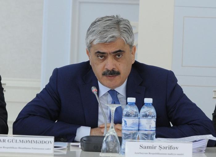 Azerbaijani finance minister awarded Shohrat Order
