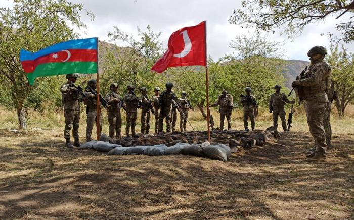 Azerbaijan, Turkey start joint military exercises in Lachin