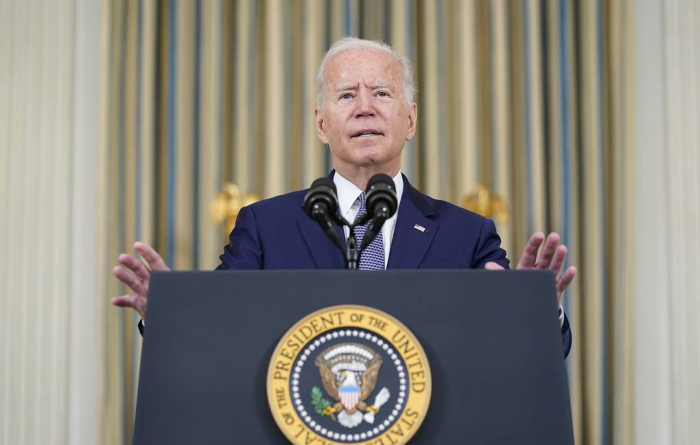 US recognition of Taliban 'a long way off' - Biden