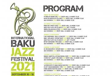 باكو تستضيف مهرجان الجاز الدولي للمرة التالية