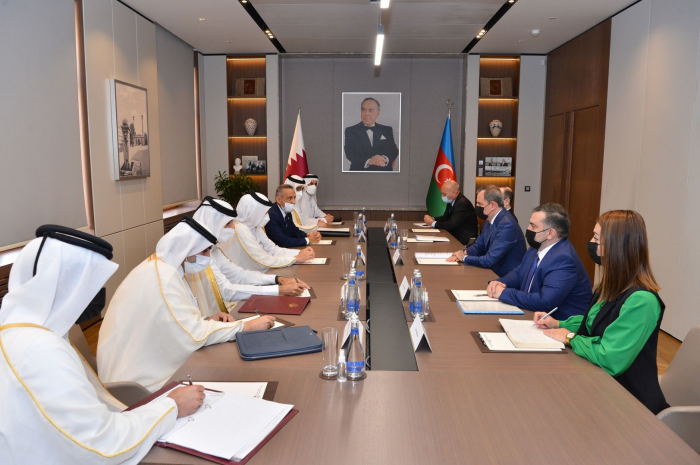 Azerbaijan FM receivesState Minister for Foreign Affairs of Qatar