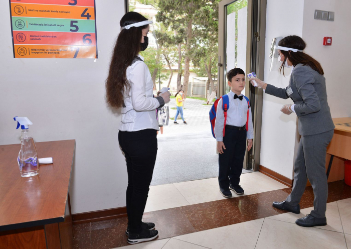 Students with symptoms of fever to be banned from entering schools in Azerbaijan: ministry
