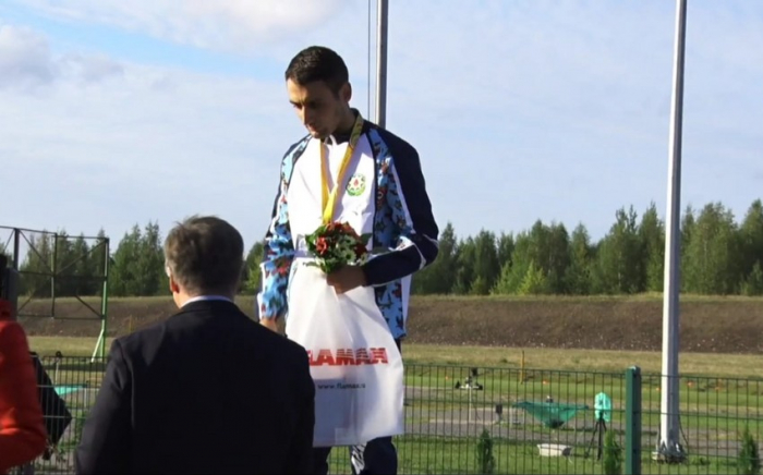 One more Azerbaijani athlete bags gold at CIS Games