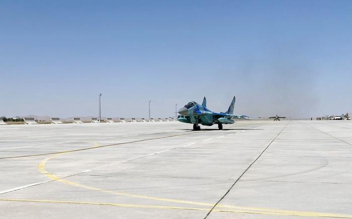 "Azerbaijani military pilots successfully fulfilled tasks during the ""TurAz Falcon - 2021"" exercises -   VIDEO"