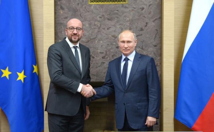EU's Michel, Russia's Putin discuss Karabakh issue
