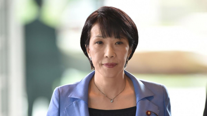 Woman politician joins race for Japan
