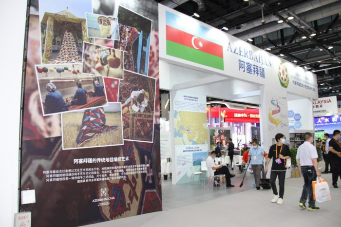 Azerbaijan attends China International Trade in Services Exhibition