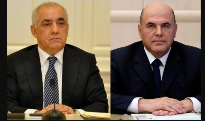 Azerbaijani PM offers condolences to Russian counterpart
