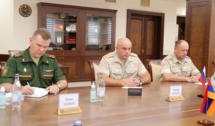 Ein neuer Kommandeur des Friedenskontingents in Karabach wurde ernannt