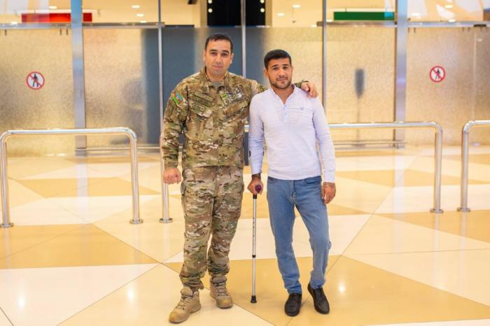 Azerbaijan sends 5 more war veterans to Turkey for treatment