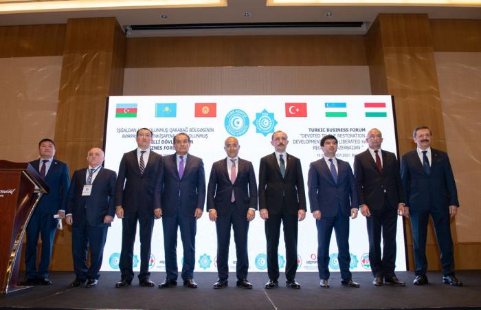 Business forum dedicated to restoration of Karabakh held