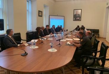 فريق العمل المعني بتطهير اراضي أذربيجان المحررة من الاحتلال الأرميني من الألغام والذخائر غير المتفجرة يعقد اجتماعا تاليا
