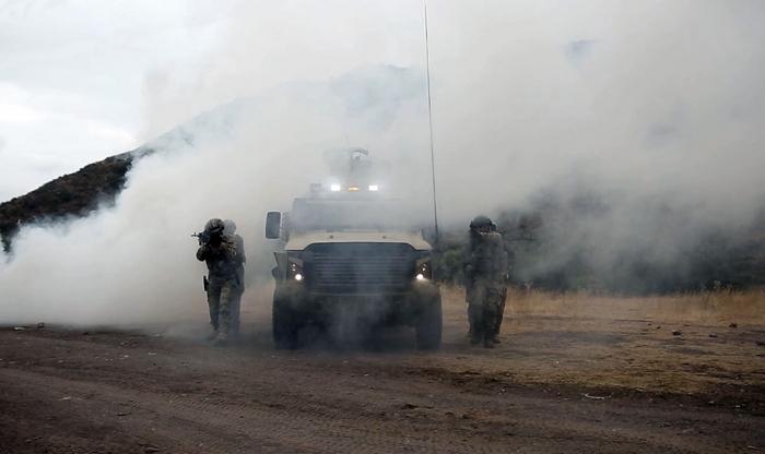 Gemeinsame aserbaidschanisch-türkische Übungen in der Region Latschin beendet   - VIDEO