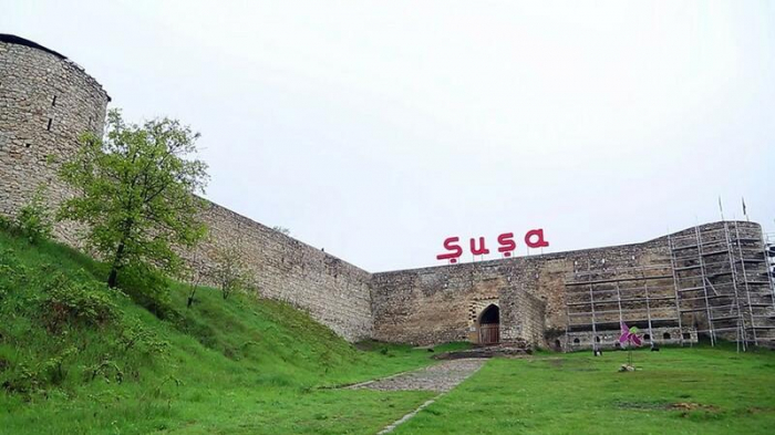 Residents of Azerbaijan's Shusha visit their homelands
