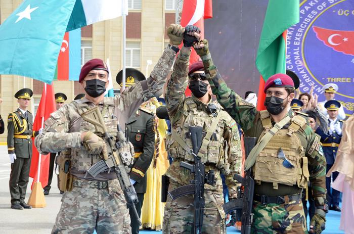 Übungen aserbaidschanischer, türkischer und pakistanischer Spezialeinheiten in Baku eröffnet –  VIDEO