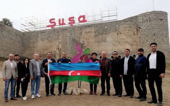 Kazakh parliamentary delegations visit Azerbaijan's Shusha, Fuzuli cities –   PHOTO