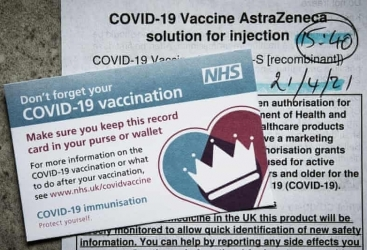 UK ditches plans for vaccine passports at crowded venues