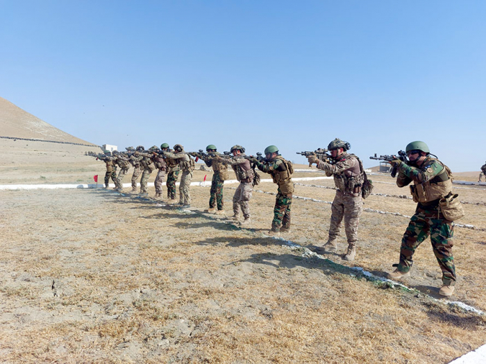 """Special forces carried out shooting during the """"Three Brothers - 2021"""" international exercises -   VIDEO"""