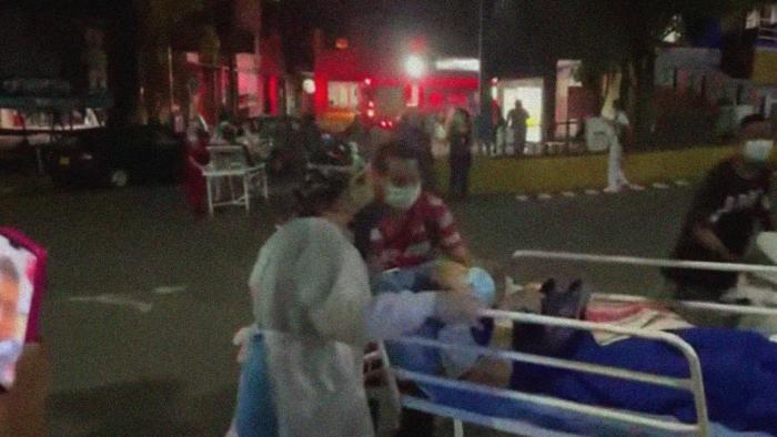 Un incendio en un hospital de Colombia deja dos muertos y más de 250 pacientes evacuados