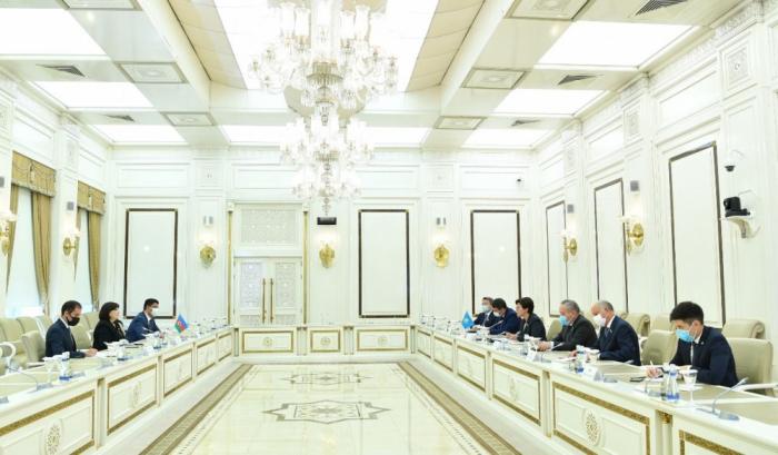 Aserbaidschan und Kasachstan diskutieren über interparlamentarische Beziehungen