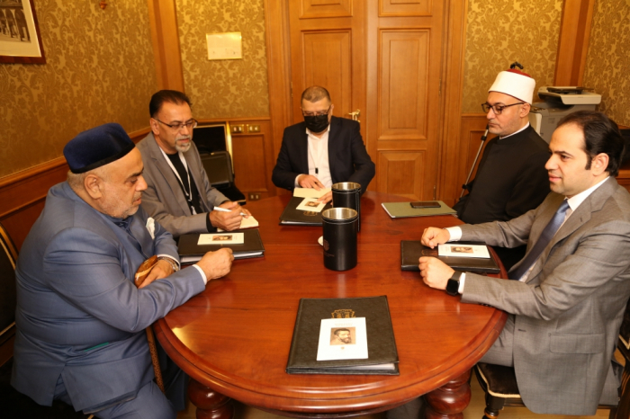 رئيس ادارة مسلمي القوقاز يلتقي بالامين العام للجنة العليا للأخوة الانسانية مستشار شيخ الازهر في بولونيا