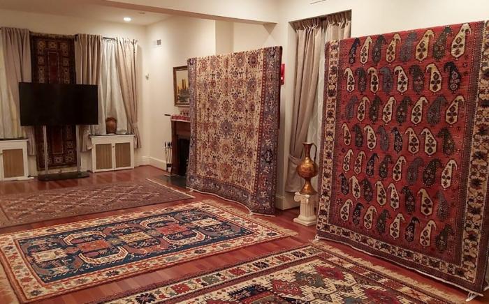 Aserbaidschanische Teppiche werden auf der internationalen Ausstellung in Moskau gezeigt