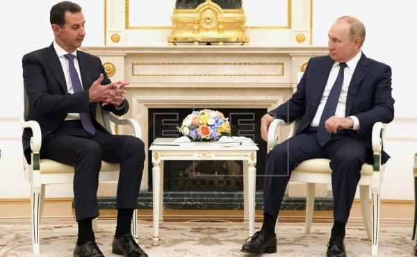 """Al Asad acusa a """"ciertos países"""" de obstruir el proceso de paz para Siria"""