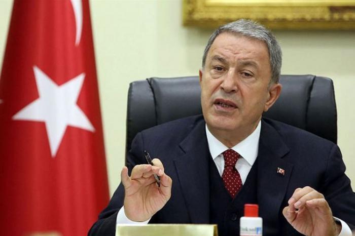 """""""Türkisch-aserbaidschanische gemeinsame Übungen sind für die Stabilität in der Region"""" -   Hulusi Akar"""