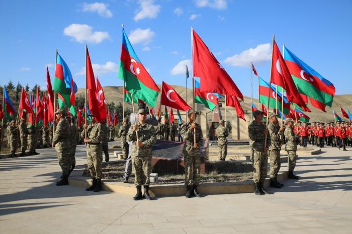 Anlässlich der Befreiung von Baku wird ein Militärmarsch stattfinden
