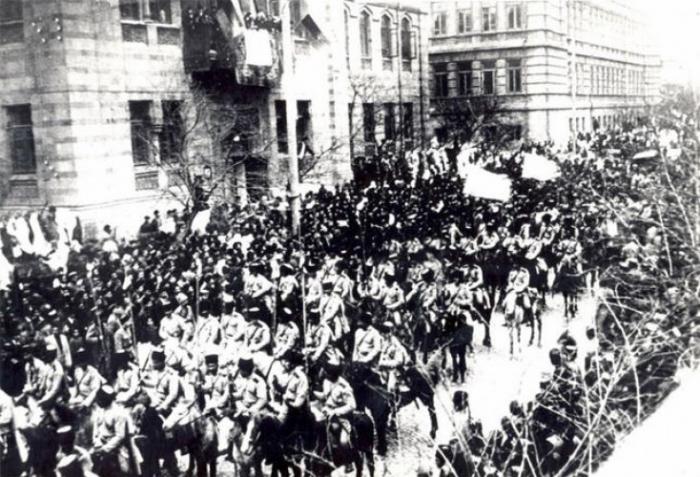 103 Jahre vergehen seit der Befreiung von Baku