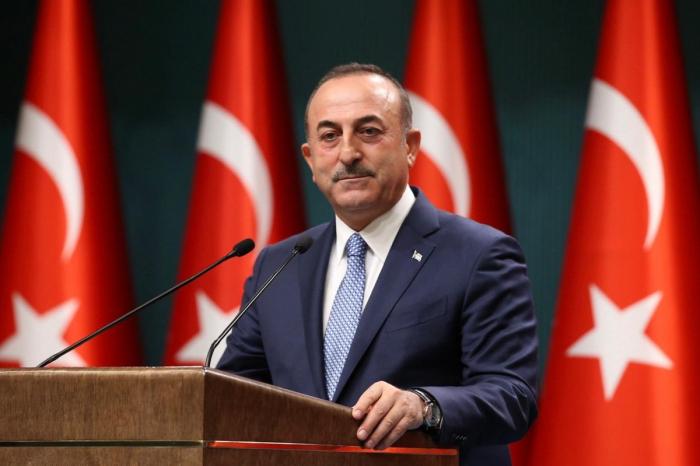 """Cavuschoglu:   """"Am 103. Jahrestag der Befreiung von Baku ist Karabach auch bereits frei"""""""
