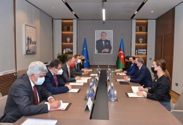 وزير الخارجية يستقبل المبعوث الخاص للاتحاد الاوروبي لشؤون جنوب القوقاز