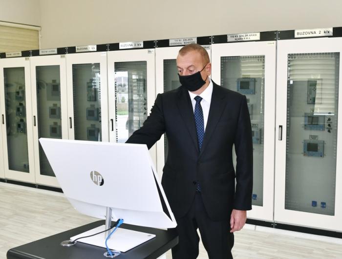 Le président azerbaïdjanais participe à l'inauguration d