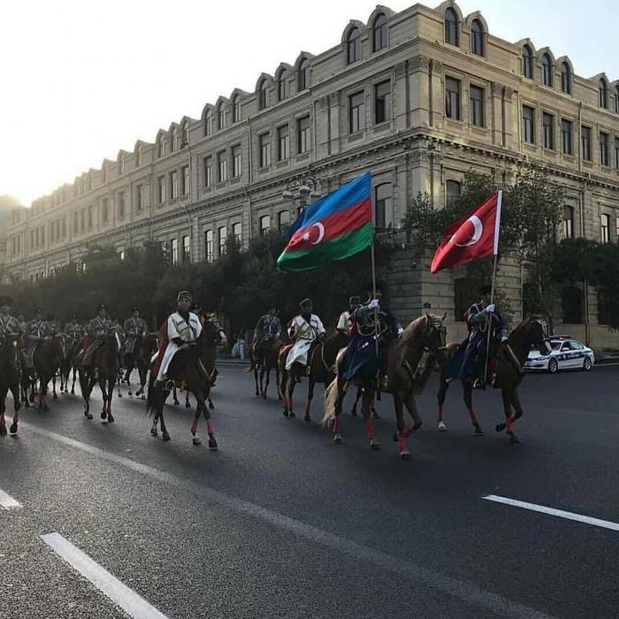 Liberation of Baku - triumph of Azerbaijani-Turkish brotherhood