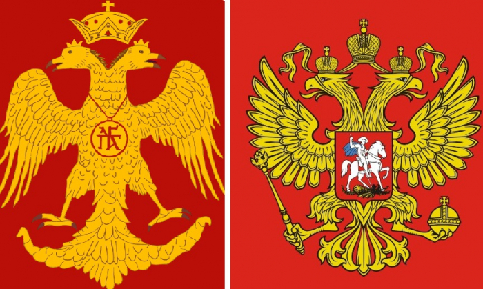 """Not """"third Rome"""", but """"second Byzantium"""": Geopolitical codes of Russia"""