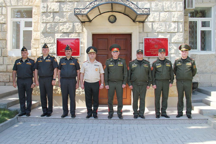 Military officials of Azerbaijan and Belarus hold meeting