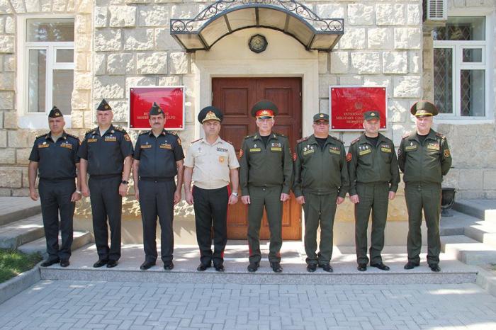 Treffen der Militärbeamte von Aserbaidschan und Weißrussland stattgefunden