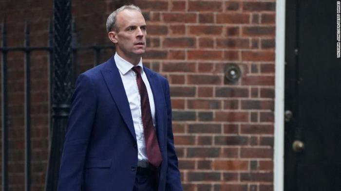 Johnson reshuffles cabinet removing Dominic Raab as UK foreign secretary